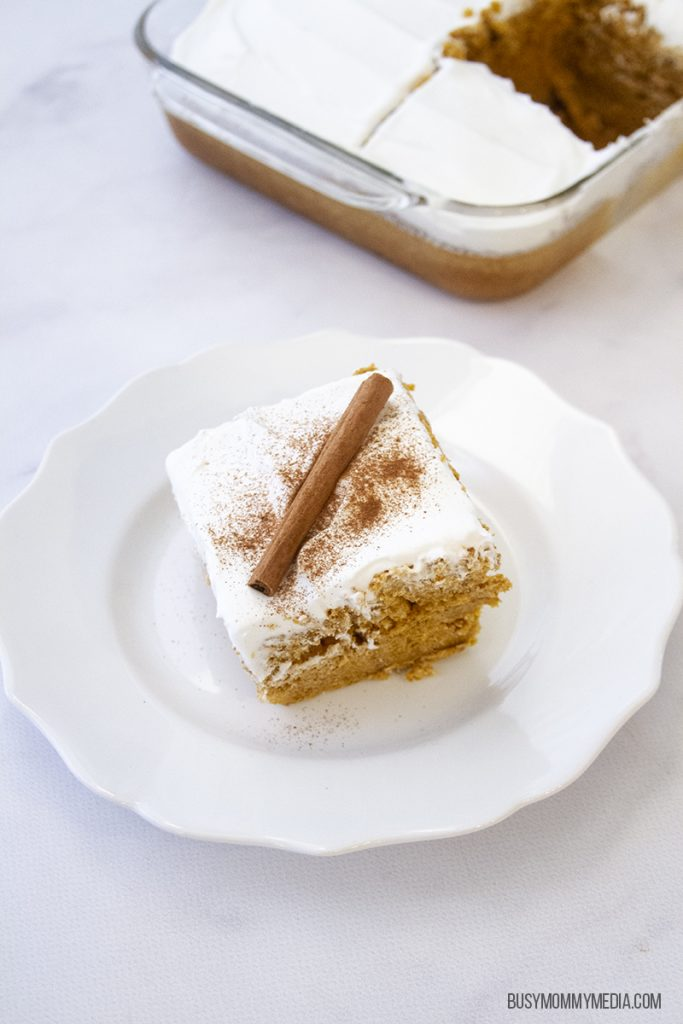 Cake mix pumpkin cake