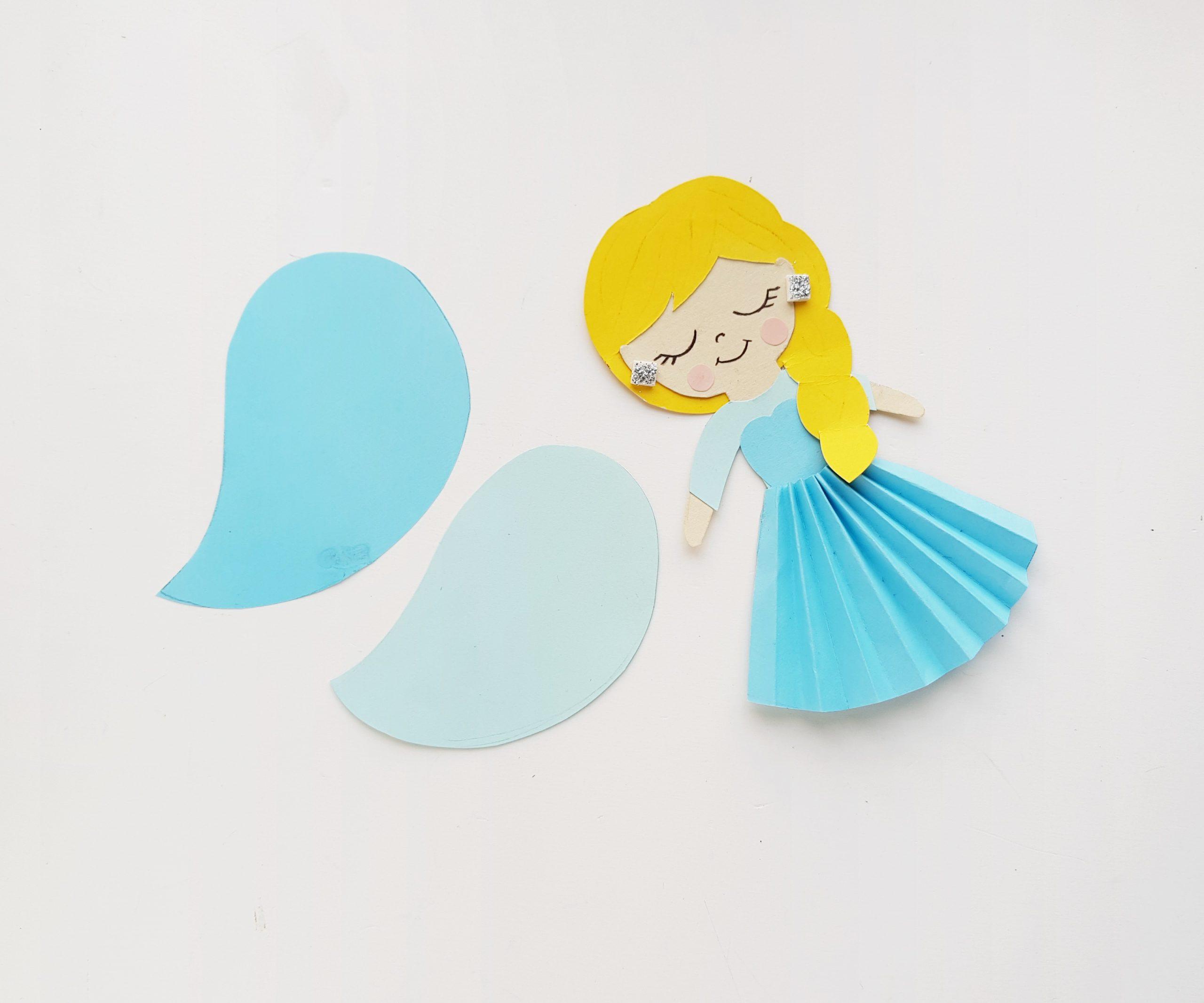 Elsa Paper Craft